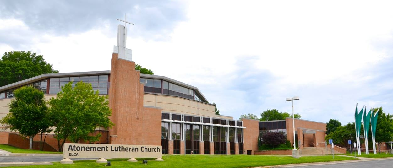 Front view of Atonement Lutheran Church