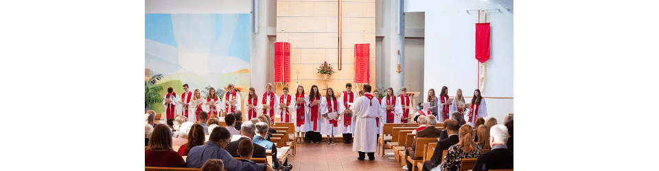 Our Confirmation Ministry is a two-year program for 7th and 8th grade students. Throughout the two years, students will study Old and New Testament stories, and the Small Catechism.