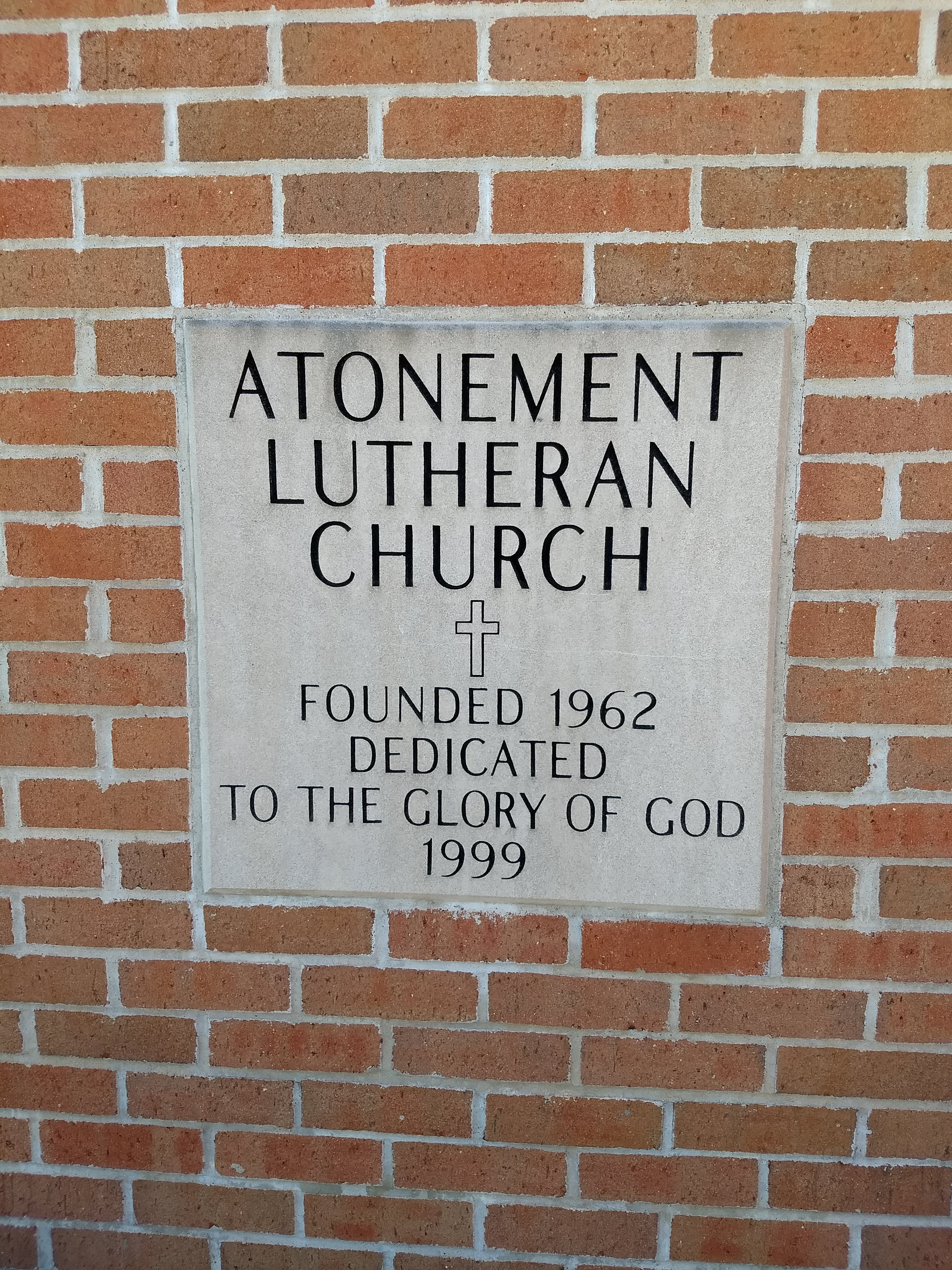 Atonement Lutheran Church was founded in 1962