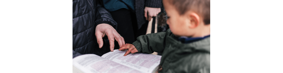 time with children is helping them grow in faith